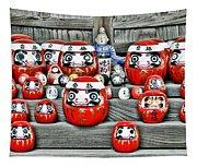 Daruma Dolls Tapestry