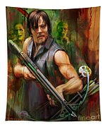 Daryl Dixon Walker Killer Tapestry