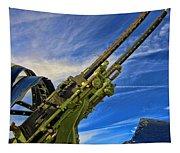 Dauntless Tail Gun Tapestry