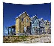 Dauphin Island Fishing Houses Tapestry