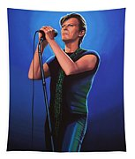 David Bowie 2 Painting Tapestry