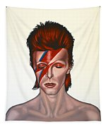 David Bowie Aladdin Sane Tapestry by Paul Meijering