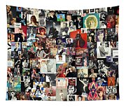 David Bowie Collage Tapestry