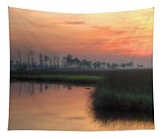 Dawn On The Bayou Tapestry