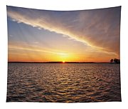 Dawn On The Chesapeak - St Michael's Maryland Tapestry
