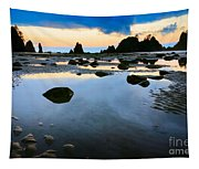 Dawn Seascape Tapestry