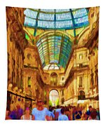Day At The Galleria Tapestry
