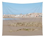 Day At The Moroccan Fishing Village Tapestry