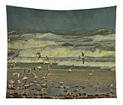 Day For The Birds Tapestry