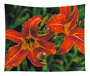 Day Lilly Tapestry