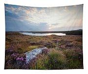 Daybreak Over Connemara Bog Tapestry