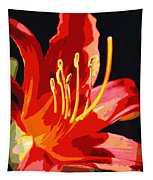 Daylily Flame Tapestry