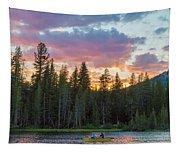 Day's Last Light Tapestry