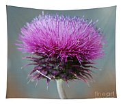 Dazzling Thistle Beauty Tapestry