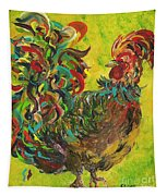 De Colores Rooster #2 Tapestry