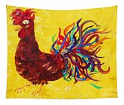 De Colores Rooster Tapestry