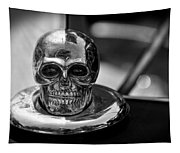 Dead Head Hood Ornament Tapestry