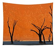Dead Trees By Red Sand Dunes, Dead Tapestry