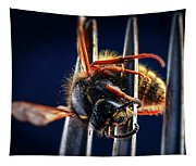 Dead Wasp On A Fork Tapestry