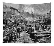 Deadwood South Dakota C. 1876 Tapestry