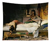 Death Of Cleopatra Tapestry