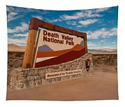 Death Valley Entry Tapestry