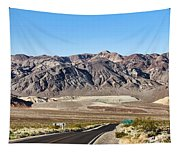 Death Valley Highway Tapestry