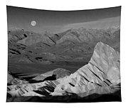 Death Valley Zabriskie Point Bw Img 0525psd Tapestry