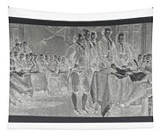 Declaration Of Independence In Negative Tapestry