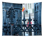 Decorative Iron Fence In New Orleans Tapestry