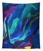 Deep Blue Thoughts Tapestry