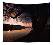 Deep Creek Sunrise Tapestry