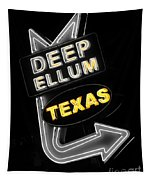 Deep Ellum In Yellow Tapestry
