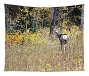 Deer Camoflauged Tapestry