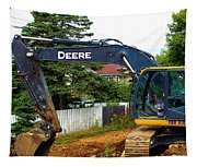 Deere For Hire Tapestry
