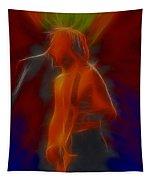 Def Leppard-adrenalize-gb13-phil-fractal Tapestry