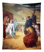 Degas' Alexander And Bucephalus Tapestry