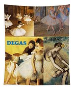 Degas Collage Tapestry