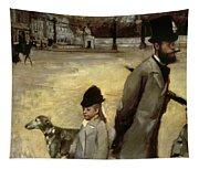Degas Place De La Concorde Tapestry