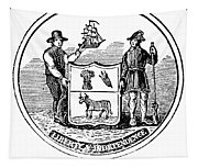 Delaware State Seal Tapestry