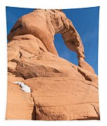 Delicate Arch South Side  Tapestry