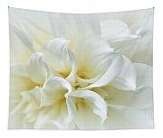 Delicate White Softness Tapestry