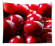Delicious Cherries Tapestry