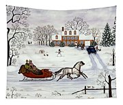 Delivering Gifts Tapestry