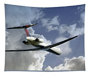 Delta Jet Tapestry