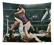 Dempsey V Firpo In New York City Tapestry