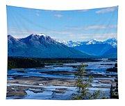 Denali Mountain Range Tapestry