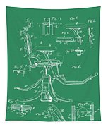 Dental Chair Patent Tapestry