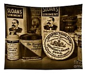Dentist  -  Tooth Powder And More In Black And White Tapestry