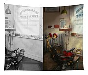 Dentist - S.b. Johnston Dentist 1919 - Side By Side Tapestry